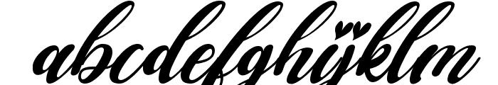 Falencia Italic Font LOWERCASE