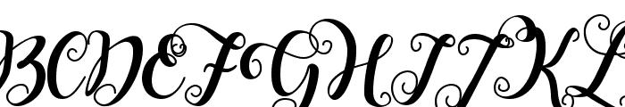 Falencia Font UPPERCASE
