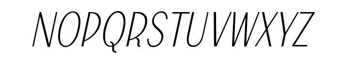 Falkin Script PERSONAL Font UPPERCASE