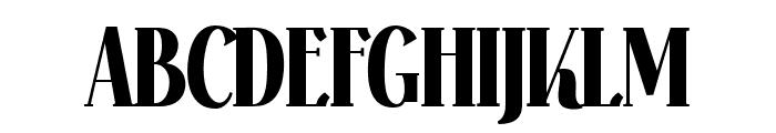 Falkin Serif Bold PERSONAL Font UPPERCASE