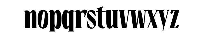 Falkin Serif Bold PERSONAL Font LOWERCASE