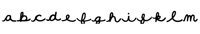 Fall_Doodles Font LOWERCASE