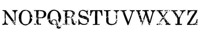 FallenSpartans-Regular Font UPPERCASE
