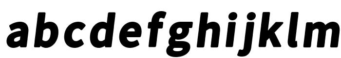 Falling Sky Black Oblique Font LOWERCASE