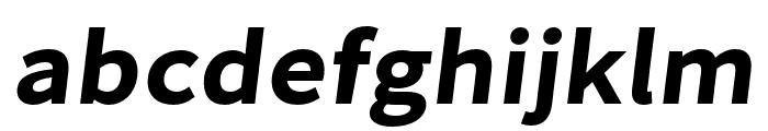 Falling Sky BoldPlus Oblique Font LOWERCASE