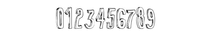 False 3D Font OTHER CHARS