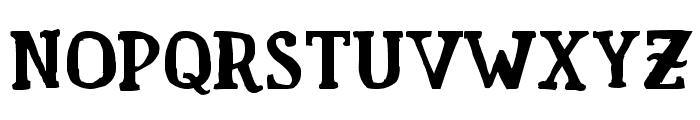 Fam Fuerte Font UPPERCASE