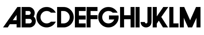 FamiFont Bold Font UPPERCASE