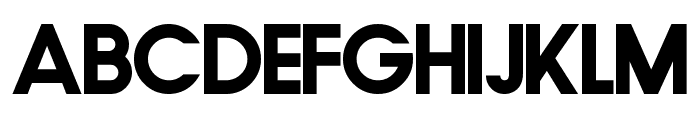 FamiFont Bold Font LOWERCASE