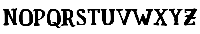 Familia Fuerte Grunge Font UPPERCASE