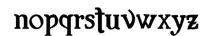 Familia Fuerte Grunge Font LOWERCASE