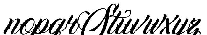FamiliaScript Font UPPERCASE