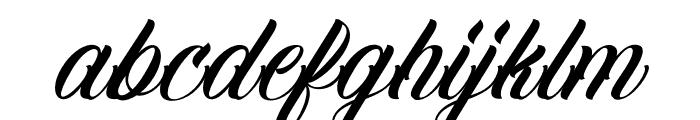 FamiliaScript Font LOWERCASE