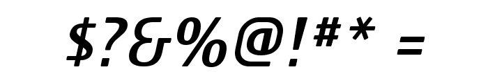 Familian Elder Oblique Font OTHER CHARS