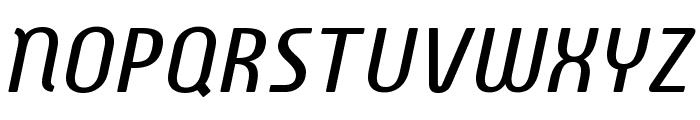 Familian Elder Oblique Font UPPERCASE