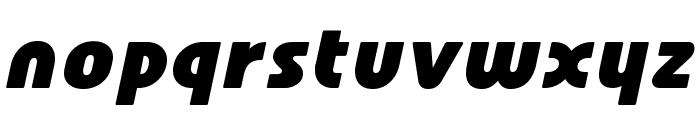 Familian Oblique Font LOWERCASE