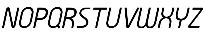 Familian Son Oblique Font UPPERCASE