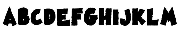 Famous Oldies Black Font UPPERCASE
