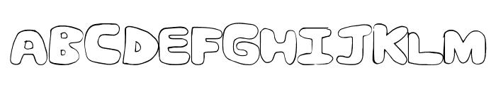 FanCom Font UPPERCASE