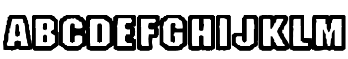 Fanatika One Font UPPERCASE