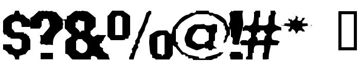 Fanatika Two Font OTHER CHARS