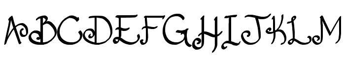Fancy That Font UPPERCASE