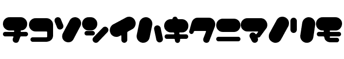 FancyBalloons Font LOWERCASE