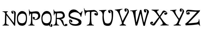 FancyFace Font UPPERCASE