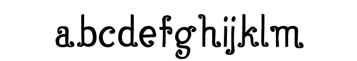 FancyFace Font LOWERCASE
