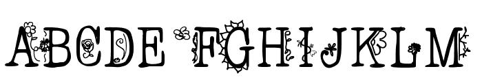 FancyPants Font UPPERCASE