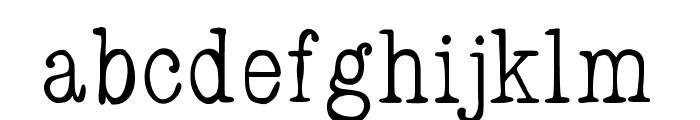 FancyPants Font LOWERCASE
