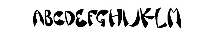 FancySauce Font UPPERCASE