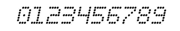 Fanfare Ticker Italic Font OTHER CHARS