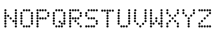 Fanfare Ticker Font LOWERCASE
