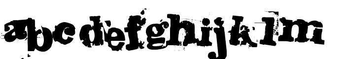 Fango Font LOWERCASE