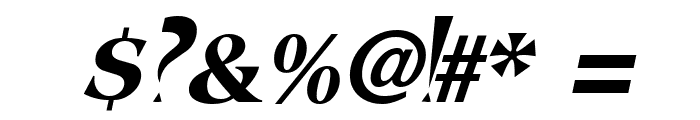 FangsSCapsSSK Italic Font OTHER CHARS