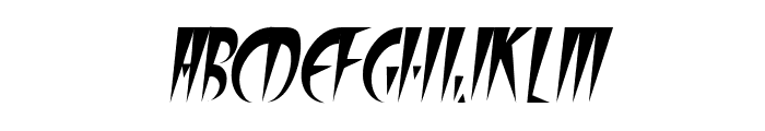 FangsSCapsSSK Italic Font LOWERCASE