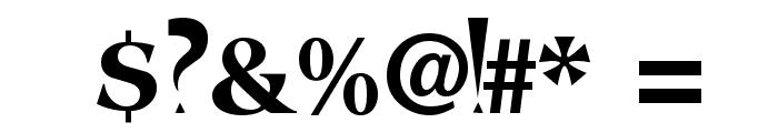 FangsSCapsSSK Font OTHER CHARS