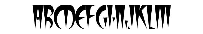 FangsSCapsSSK Font UPPERCASE