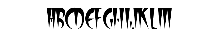 FangsSCapsSSK Font LOWERCASE