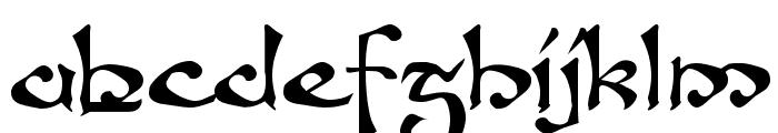 Fanjofey AH Regular Font LOWERCASE