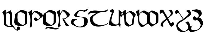 Fanjofey Leoda AH Regular Font UPPERCASE