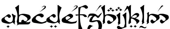 Fanjofey Leoda AH Regular Font LOWERCASE