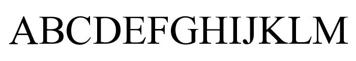 Fanni II Font UPPERCASE