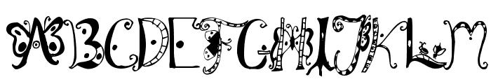 Fannys Treehouse Font UPPERCASE