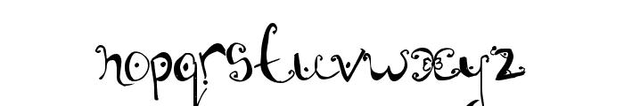 Fannys Treehouse Font LOWERCASE