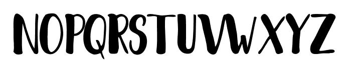 Fantai Font UPPERCASE