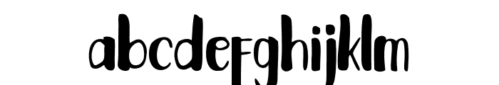 Fantai Font LOWERCASE