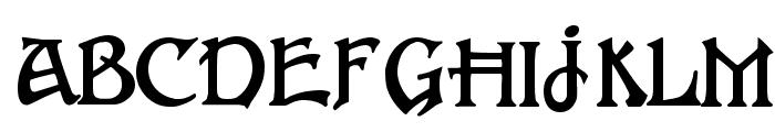 FantaisieArtistique Font UPPERCASE