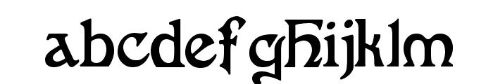 FantaisieArtistique Font LOWERCASE